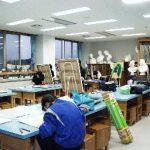 【美術室】 生徒の美術の授業で使用します 美術部も使用しています