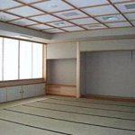 【礼法室】 茶道部・琴部が使用します 文化祭では和服美人の部員の方が お茶を点ててくれます☆ ぜひ、一度覗いてみては?