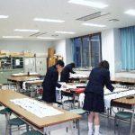【書道室】 生徒の書道の授業で使用します 書道部でも使用しています
